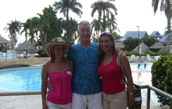 A man with the single Barranquilla girls